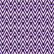 Dark Purple and White Horizontal Chevron Striped with Polka Dots — Stock Photo