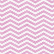 Stock Photo: Light Pink and White Zigzag Textured Fabric Background
