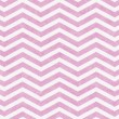Light Pink and White Zigzag Textured Fabric Background — Stock Photo