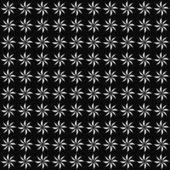 Black and White Decorative Swirl Design Textured Fabric Backgrou — Stock Photo