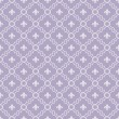 Stock Photo: White and Pale Purple Fleur-De-Lis Pattern Textured Fabric Backg