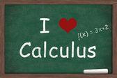 I love Calculus — Stock Photo