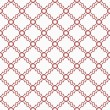 Red and White Decorative Design Textured Fabric Background — Stock Photo #39260409