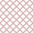 Red and White Decorative Design Textured Fabric Background — Stock Photo