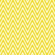 Stock Photo: Thin Bright Yellow and White Horizontal Chevron Striped Textured