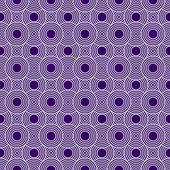 Purple and White Circles Tiles Pattern Repeat Background — Stock Photo