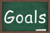 Writing your Goals — Stock Photo