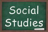 Social Studies Class — Stock Photo