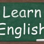İngilizce öğrenme — Stok fotoğraf