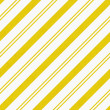 Yellow Diagonal Striped Textured Fabric Background — Stock Photo