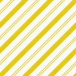 Stock Photo: Yellow Diagonal Striped Textured Fabric Background
