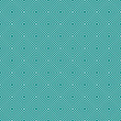 Foto de Stock  : Teal and White Diamonds Tiles Pattern Repeat Background