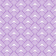 Stock Photo: Purple and White Diamonds Tiles Pattern Repeat Background