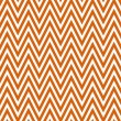 Stock Photo: Thin Bright Orange and White Horizontal Chevron Striped Textured