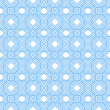 Stock Photo: Blue and White Circles Tiles Pattern Repeat Background