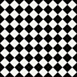 Stock Photo: Black, White and Yellow Argyle Pattern Repeat Background