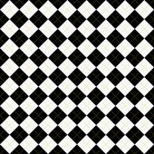 Black, White and Yellow Argyle Pattern Repeat Background — Stock Photo
