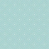 Teal and White Diamonds Tiles Pattern Repeat Background — Stock Photo