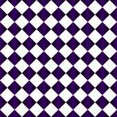 Purple and White Diamond Pattern Repeat Background — Stock Photo