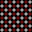 Stock Photo: Black, Red and Gray Argyle Pattern Repeat Background