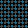 Stock Photo: Black, Blue and Gray Argyle Pattern Repeat Background