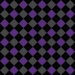 Stock Photo: Black, Purple and Gray Argyle Pattern Repeat Background