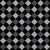 Black and Gray Argyle Pattern Repeat Background  — Stock Photo