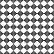 Gray and White Diamond Pattern Repeat Background — Stock Photo