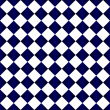 Blue and White Diamond Pattern Repeat Background — Stock Photo