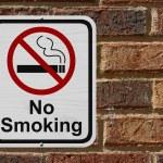 Oznak palenia — Zdjęcie stockowe