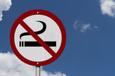 No Smoking Allowed Sign — Stock Photo