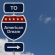 American Dream this way — Stock Photo #46122227