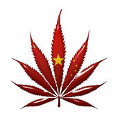 Marijuana in China — Stock Photo