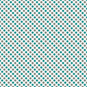 Gray and Teal Small Polka Dot Pattern Repeat Background — Stock Photo