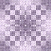 Purple and White Diamonds Tiles Pattern Repeat Background — Stock Photo