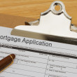 Mortgage Application Form — Stock Photo #46808555