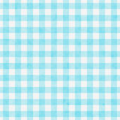 Pale Teal Gingham Pattern Repeat Background — Stock Photo