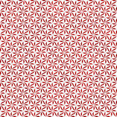 Red and White Decorative Swirl Design Textured Fabric Background — Stockfoto