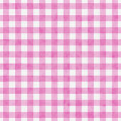 Bright Pink Gingham Pattern Repeat Background — Stock Photo