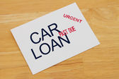 Car Loan Payment Past Due — Stock Photo