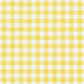 Pale Yellow Gingham Pattern Repeat Background — Stock Photo