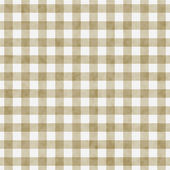 Beige Gingham Pattern Repeat Background — Stock Photo