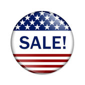 American Sale Button — Stock Photo