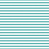 Thin Teal and White Horizontal Striped Textured Fabric Backgroun — Stock Photo