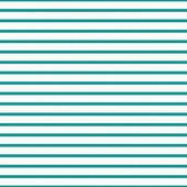 Thin Teal and White Horizontal Striped Textured Fabric Backgroun — Stock Photo