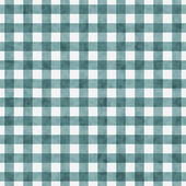 Bright Teal Gingham Pattern Repeat Background — Stock Photo