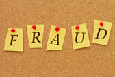 Fraud Notice — Stock Photo