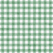 Pale Green Gingham Pattern Repeat Background — Stock Photo