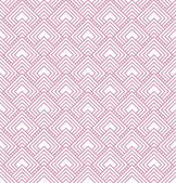 Pink and White Diamonds Tiles Pattern Repeat Background — Stock Photo