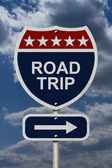 Road Trip Sign — Stock Photo